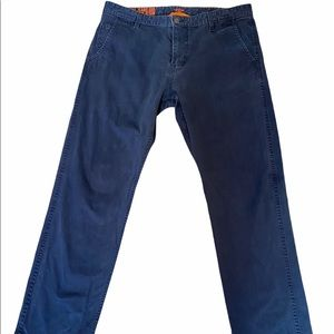 MENS DOCKERS Slim Tapered Blue Khaki Pant 38